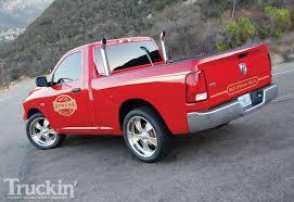 dodge ram li u0027l red express 2009 dodge ram truckin u0027 magazine