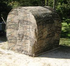 Bow Hunting From Ground Blind Home Built Ground Blind Using Cattle Or Hog Panels Hunting