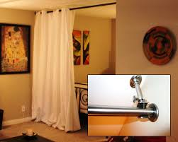 ceiling mounted room dividers curtain room divider ikea ideas