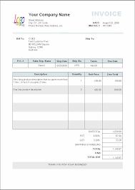 Roofing Invoice Sample Download Sample Work Invoice Rabitah Net
