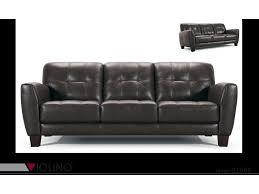 violino leather sofa price violino 31566 31566 3p tufted leather sofa dunk bright furniture