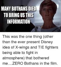 Many Bothans Died Meme - many bothans died meme