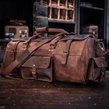 mens travel bag images Large travel bag mens leather duffle bag buffalo jackson jpg