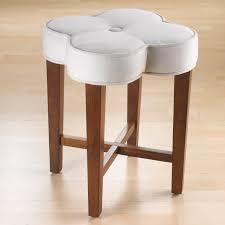 vanity chairs for bedroom clover vanity stool hayneedle