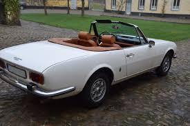 pejo spor araba peugeot 504 cabiolet pininfarina 1973