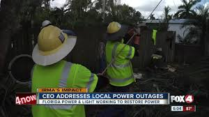 Duke Energy Outage Map Florida by Fpl Adresses Power Outage Questions Youtube