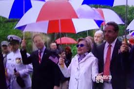 hillary clinton celebrates memorial day in chappaqua still4hill