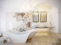 Interior Design With Flowers Bathroom Women Bathroom Design With Beige Wall Combined With