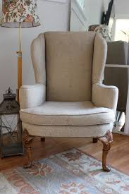 How To Reupholster A Wingback Armchair Furniture How To Reupholster A Wingback Chair Wingback Chairs