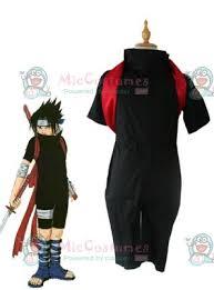 Sasuke Halloween Costumes Naruto Sasuke Uchiha Shippuuden Cosplay Costume Sale