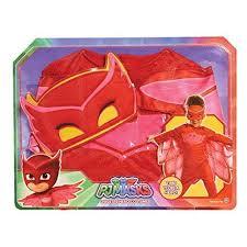 Girls Owl Halloween Costume Pj Masks Owlette Red Girls Owl Halloween Costume 4 6x Hero Dress
