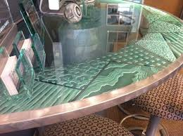glass table tops custom glass table tops with pizazz sans soucie glass