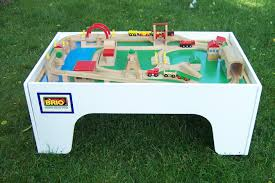 Brio Changing Table Money In The Garage All Aboard For Brio Tables