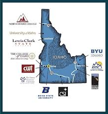 Boise State Campus Map Snap Shots Idaho Commerce