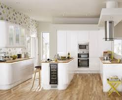 White Kitchen Cabinet Door by Bayswater Kitchen From Howdens Joinery A Beautiful Gloss Slab