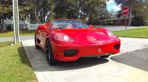 fake ferrari funny dna automotive 3sixty ferrari 360 spider réplica car replicas