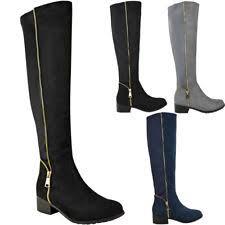s boots calf length clarks mimic calf length boots black suede 4 uk d ebay