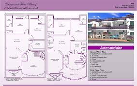 7 marla house plan design autocad 2d maps 10 lay momchuri