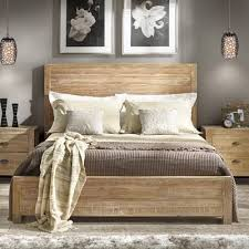 light wood bed frame genwitch