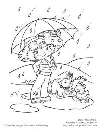 7 images of strawberry shortcake lemon coloring page strawberry