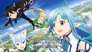 sword art online lost song review just push start