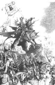 Karl Franz. From Lexicanum. Jump to: navigation, search - 350px-KarlFranzDeathclawJohnBlanche