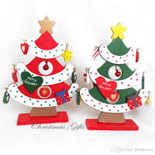 Wooden Toy Christmas Tree Decorations - wooden christmas tree decorations accessories diy handcrafted
