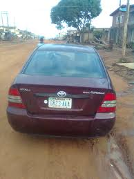 2003 toyota corolla manual gear for n1 million autos nigeria