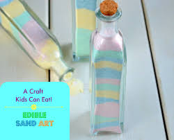 candy sand art a craft kids can eat souffle bombay