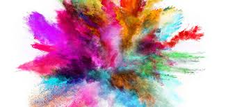 taobao hand colored poster background home color explosion