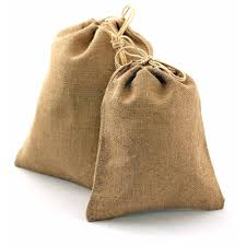 burlap drawstring bags 8 x 10 burlap bag with drawstring 12 pk b161 02
