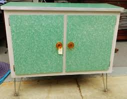 retro kitchen island mid century