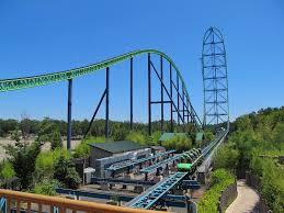 List Of Roller Coasters At Six Flags Great Adventure Kingda Ka Six Flags Record Breaking Coaster