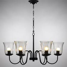 Glass Light Shades For Chandeliers Captivating Chandelier In Designing Home Inspiration With