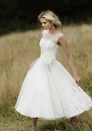 tea dresses wedding tea length wedding dress rikof