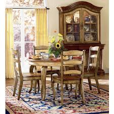 have to have it vineyard round dining table set with 20 inch leaf