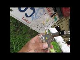 utility trailer light bulbs replacing the bulbs in the harbour freight boat trailer lights youtube