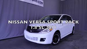nissan tiida 2008 modified nissan versa sport pack 1 8 sl 2011 youtube