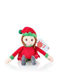 12cm boy christmas elf soft toy soft toys christmas gifts