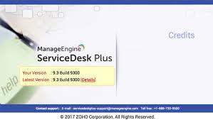 Ca Service Desk Wiki Download Service Packs Manageengine Servicedesk Plus