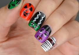 nails wet n wild halloween monsters nail art cosmetic proof