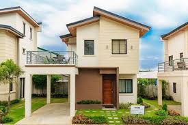 two storey house 4 bedroom two storey house model with floor plans home interior