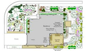 tone on a garden design plan copy u2013 modern garden