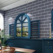 retro clothing brick 3d wallpaper modern for bedroom uneven brick