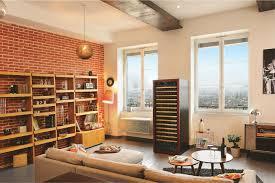 cave a vin dans cuisine les français aiment stockent du vin chez eux