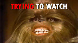Star Wars Christmas Meme - trying to watch the star wars holiday special youtube