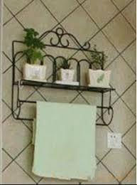 Wrought Iron Bathroom Shelves Wrought Iron Style Bathroom Shelf Towel Rail Towel Rail