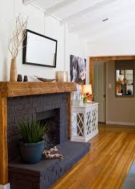 15 gorgeous painted brick fireplaces hgtv u0027s decorating u0026 design