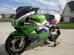 love the dual round headlights 1995 kawasaki zx