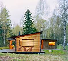 summer cabin design award winning wood house by wrb